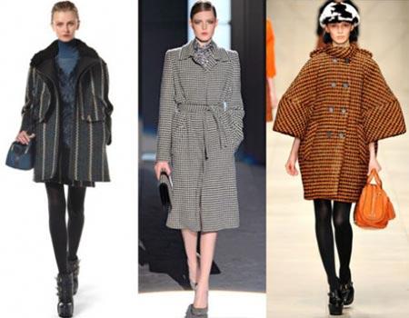 Пальто осень зима 2011 2012 зима мода