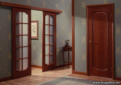 установка дверей на видео